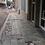 """Улица """"Сердика"""". Това не са антични останки."""