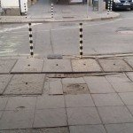 "Тротоар на улица ""Кирил и Методий""."